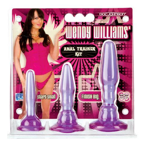 Wendy Williams Anal Trainer Kit Purp