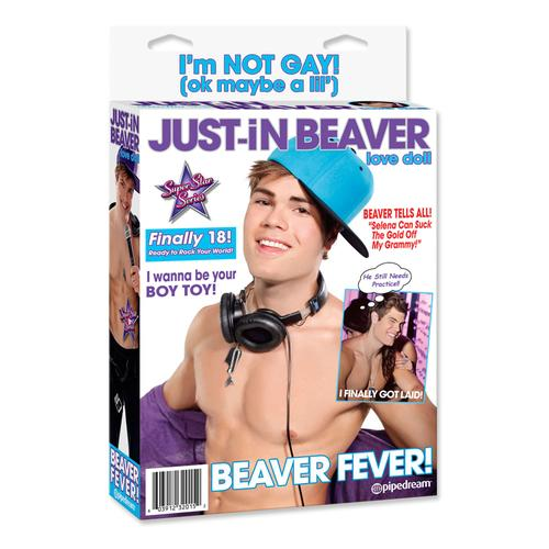 Just In Beaver Blow Up Doll