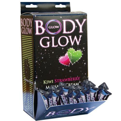 Body Glow Massage Crm Kiwi/Straw (DP/50)