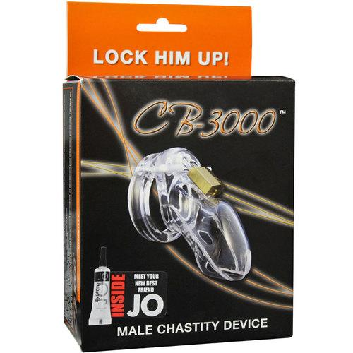 CB-3000 Clear Male Chastity