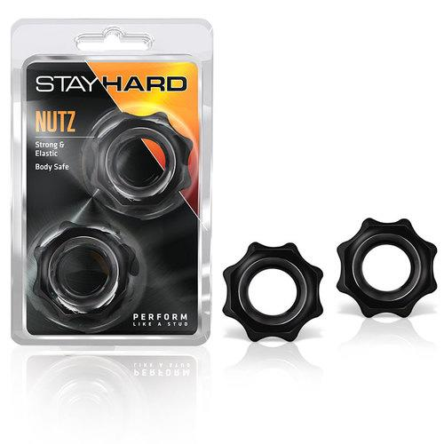 Stay Hard - Nutz - Black