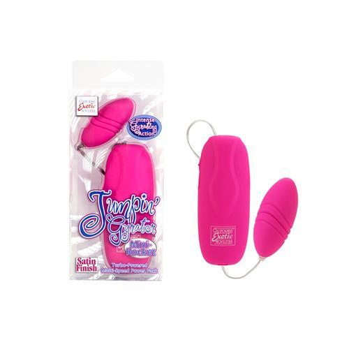 Jumpin Gyrator Mini-Rocket Pink