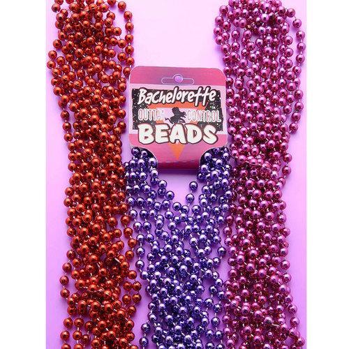 Bachelorette Beads-Pink(6/per)