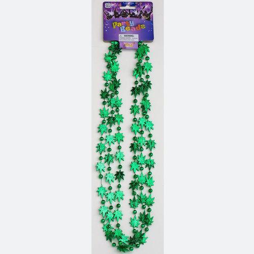 Marajuana Leaf Beads(3/per)