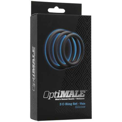 OptiMALE  3 C-Ring Set  Thin Slate