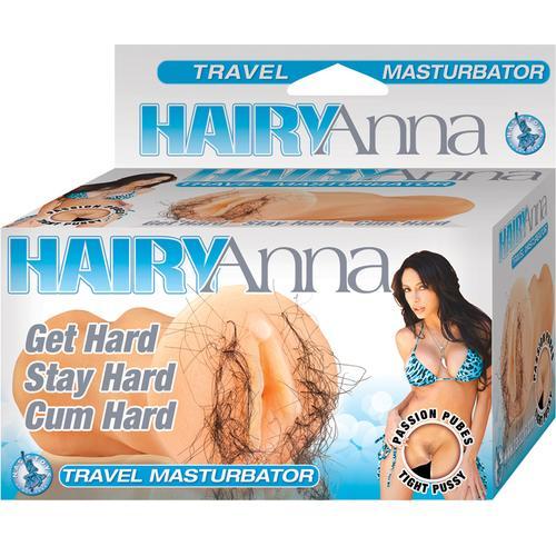 Hairy Anna Stroker (Ivory)