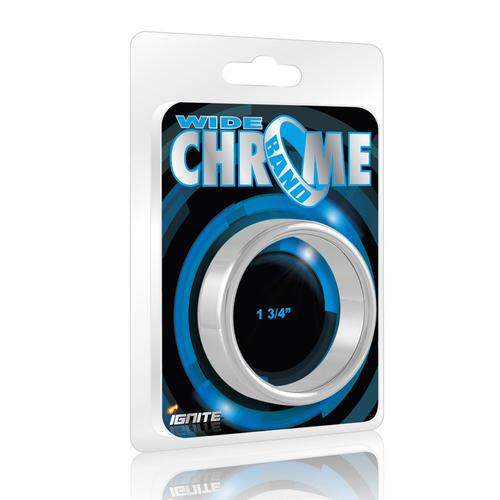 SI Chrome Band, Wide (1.75In/44Mm)