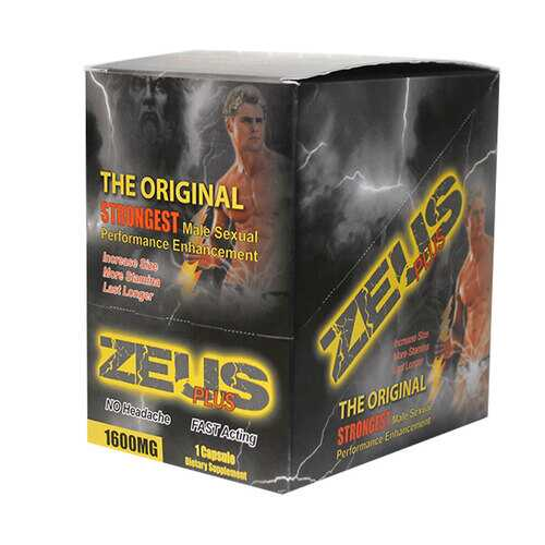 Zeus Plus Male Supplement 1pk (25/DP)