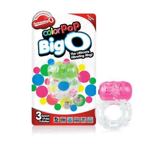 Screaming O Color Pop Big O (6/Box)