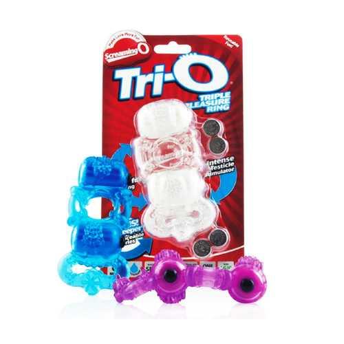 Screaming O TriO Triple Pleasure Ring