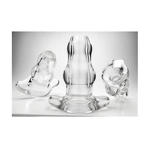 PF Double Tunnel Plug - Clear - Medium