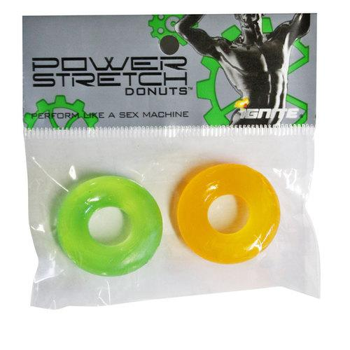 SI Power Stretch Donuts 2Pk Orange/Green