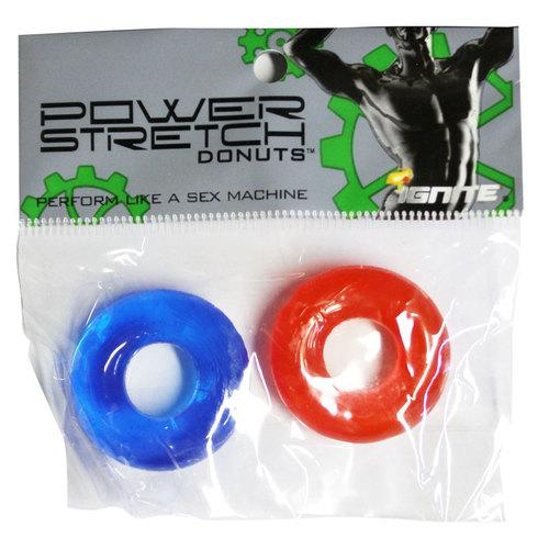 SI Power Stretch Donuts 2Pk Red/Blue