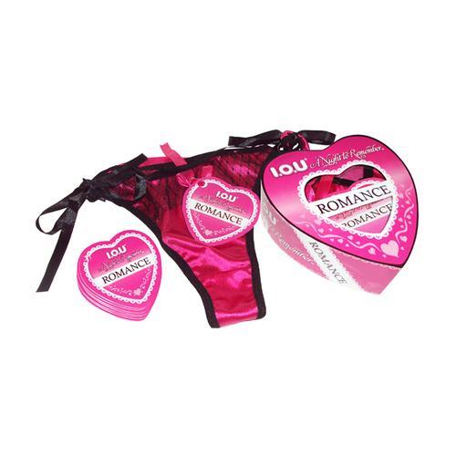IOU Romance Heart Panty