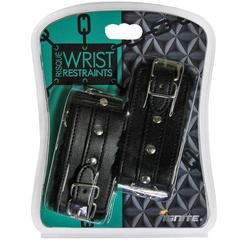 SI Risque Wrist Restraints Black