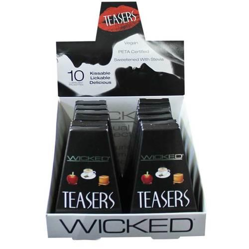 Wicked Teasers 10 Flavors Per Pk (12/DP)