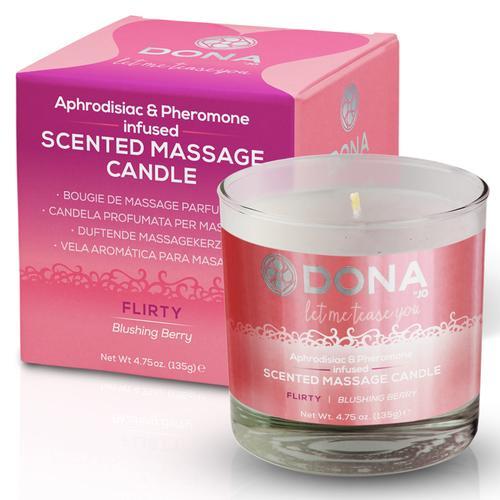 DONA Massage Candle Flirty 4.75oz