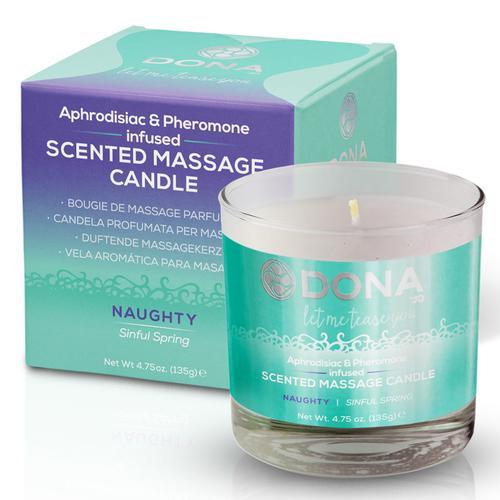 DONA Massage Candle Naughty 4.75oz