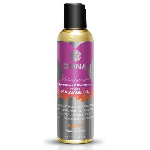 DONA Massage Oil Sassy 3.75 fl oz