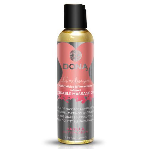 DONA Massage Oil Vanilla 3.75 fl oz