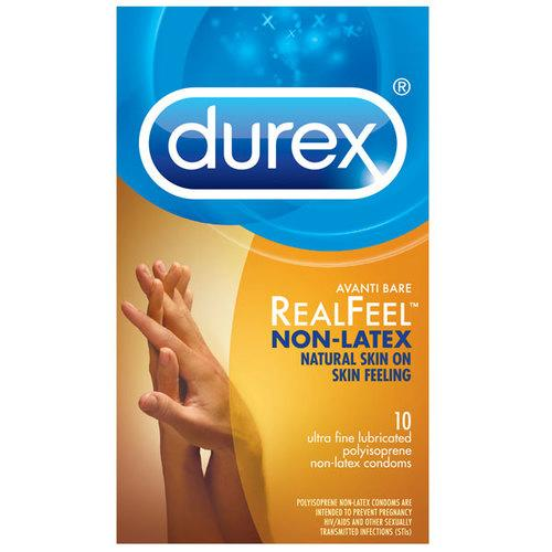 Durex Avanti Bare Real Feel NoLatex (10)