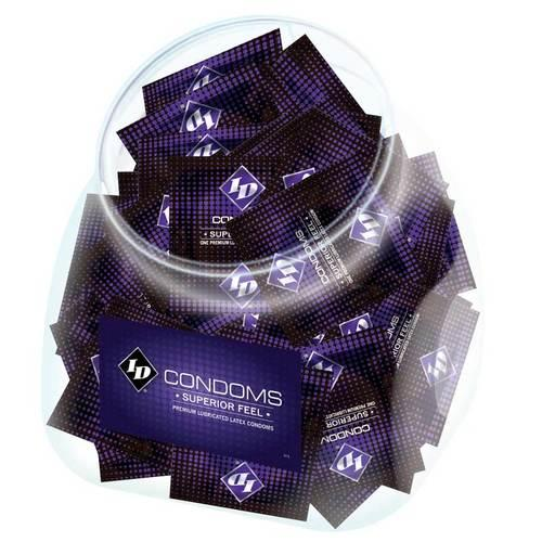 ID Superior Feel Condom Jar (144/Jar)