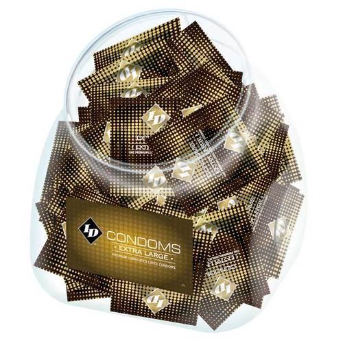 ID Extra Large Condom Jar (144/Jar)