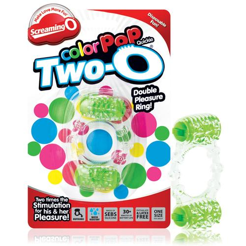Screaming O Two-O Color Pop Green