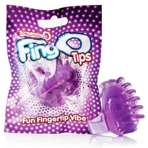 Screaming O FingO Tips Purple