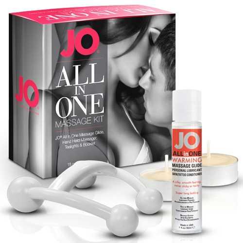 JO Massage Glide Kit Warming 1 fl oz