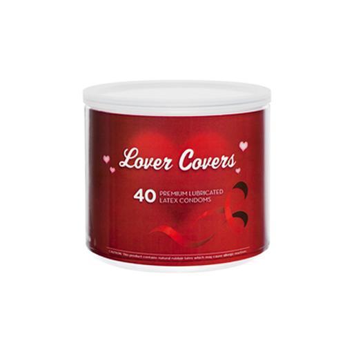 Lover Covers Premium Condoms (40/Bowl)