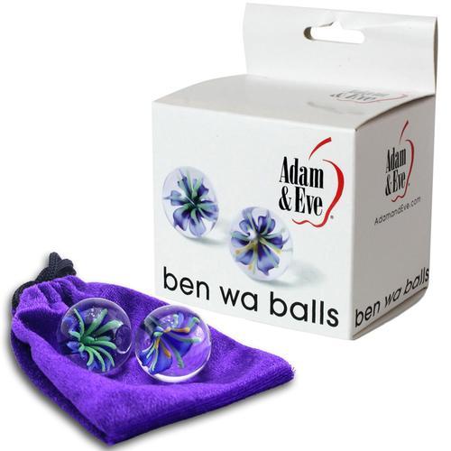 A&E Glass Ben Wa Balls Clear