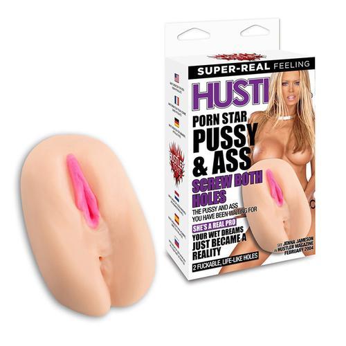 Hustler Porn Star Pussy & Ass Screw Both