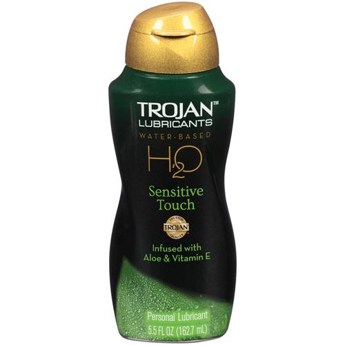 Trojan Lubricants H2O Sensitive  5.5oz.