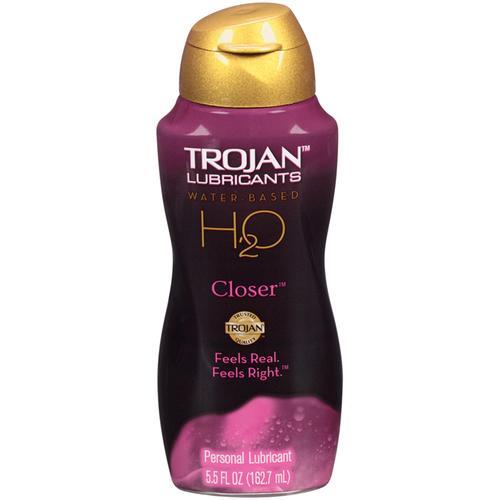 Trojan Lubricants H2O Closer  5.5oz.