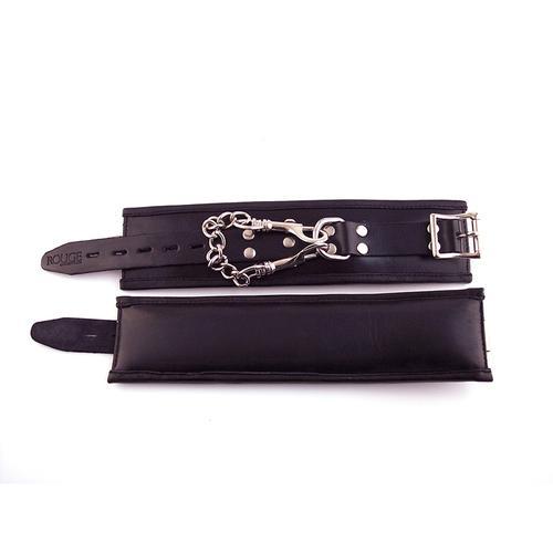 Rouge Wrist Cuffs, Padded Black