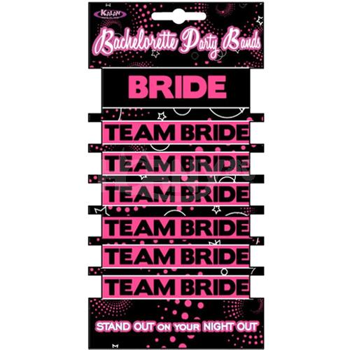 Team Bride Bachelorette Party Bands