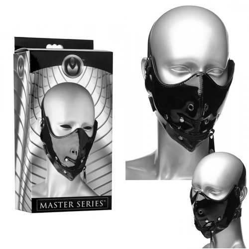 Masters Lektor Zipper Mouth Muzzle