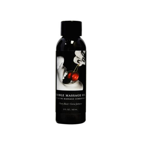 EB Edible Massage Oil Cherry 2oz