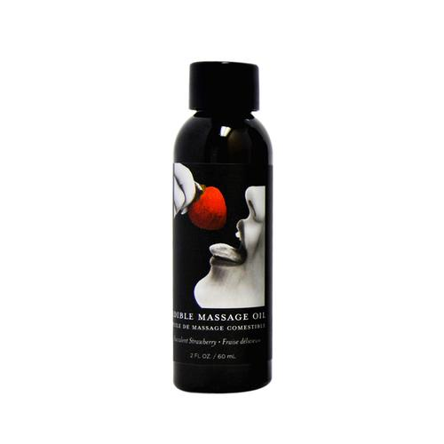 EB Edible Massage Oil Strawberry 2oz