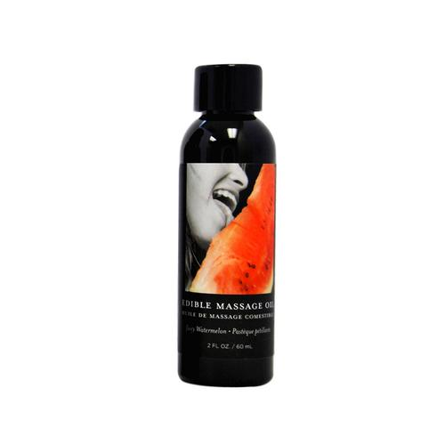 EB Edible Massage Oil Watermelon 2oz.