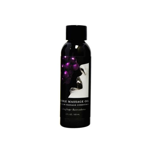 EB Edible Massage Oil Grape 2oz