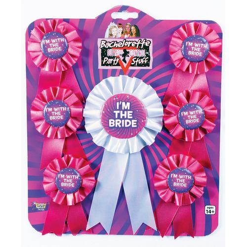 Bachelorette Award Ribbons (Set of 7)