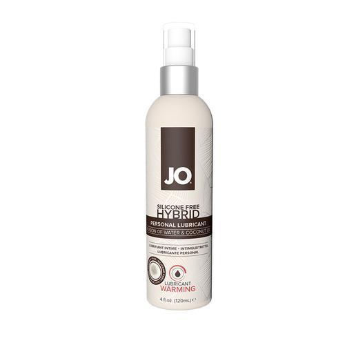 JO Hybrid Silicone Free Warming 4 fl oz
