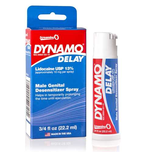 Screaming O Dynamo Delay Spray .75oz