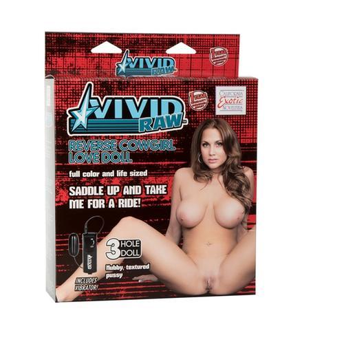 VIVID RAW Reverse Cowgirl Love Doll