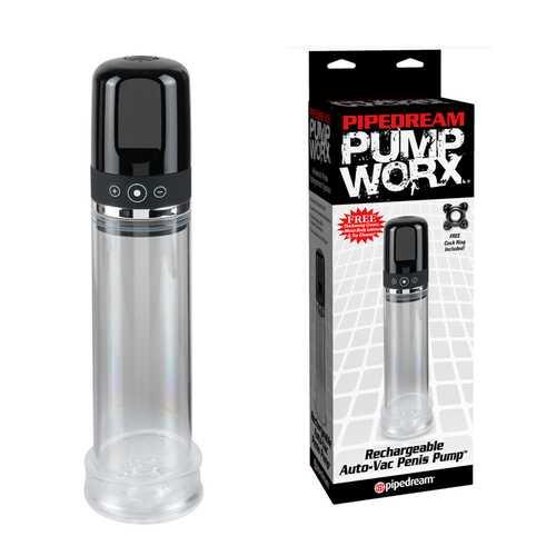 Pump Worx Recharg Auto-Vac Penis Pump