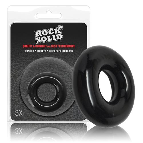 Rock Solid The Donut 3X Black