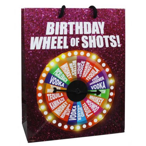 GB Birthday Wheel Of Fortune Spinner