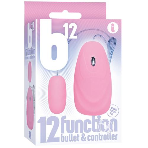 The 9's B12 Bullet 12 func w/Remote Pink